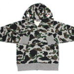 A BATHING APE(ア・ベイシング・エイプ) CITY CAMO SHARK FULL ZIP HOODIE