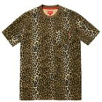 Supreme(シュプリーム) 2015 SS SUPREME Pocket Tee Leopard