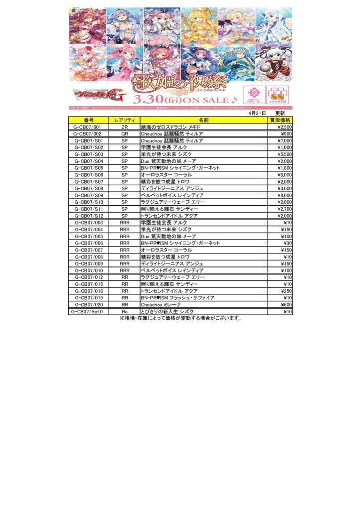 新作☆歌姫の祝祭0421のサムネイル