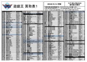 共有新ルール★遊戯王0512 手配りのみのサムネイル