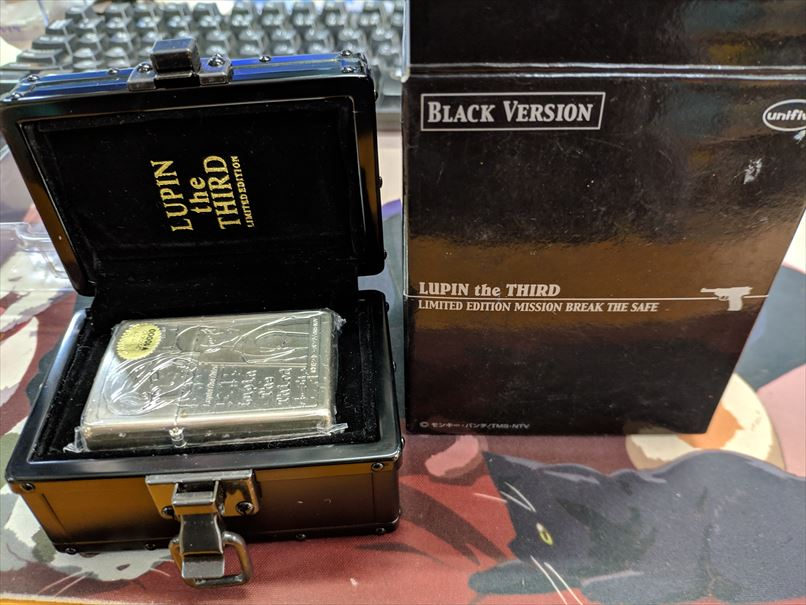 ZIPPO LUPIN the THIRD LIMITED EDITION MISSION BREAK THE SAFE